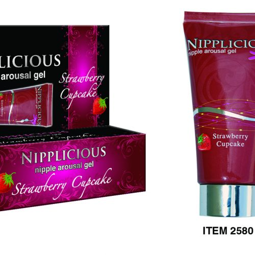 NIPPLICIOUS STRAWBERRY CUPCAKE 1 OZ